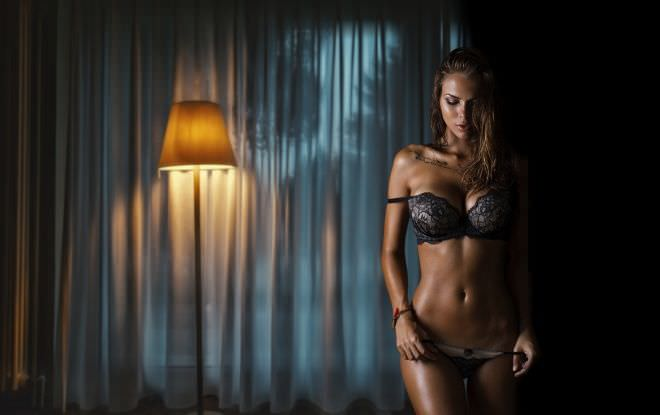 Виктория Одинцова фото в белье