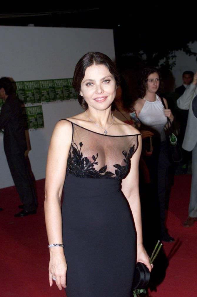 Орнелла Мути фотография в вечернем платье