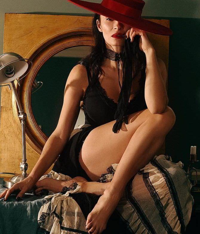 Надежда Грановская фотография в чёрном платье
