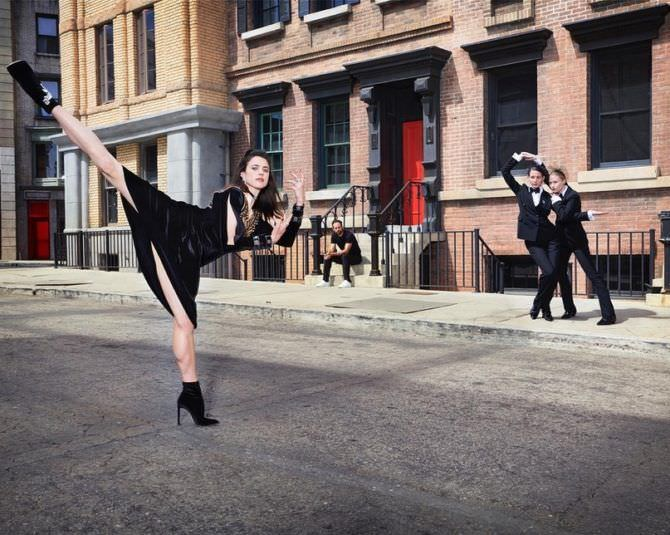 Маргарет Куэлли фотосессия в красивом платье