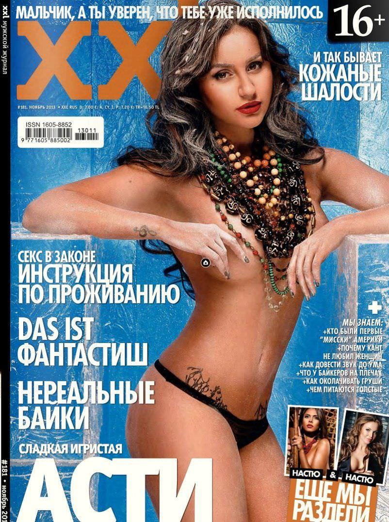 Анна Дзюба фото на обложке XXL