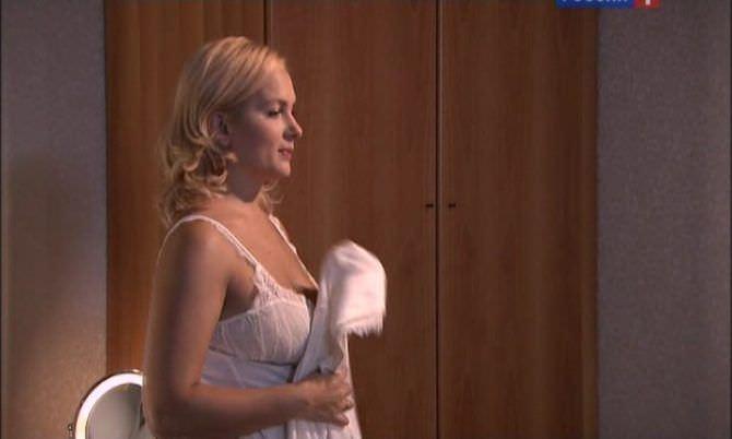 Мария Порошина фото из фильма в нижнем белье