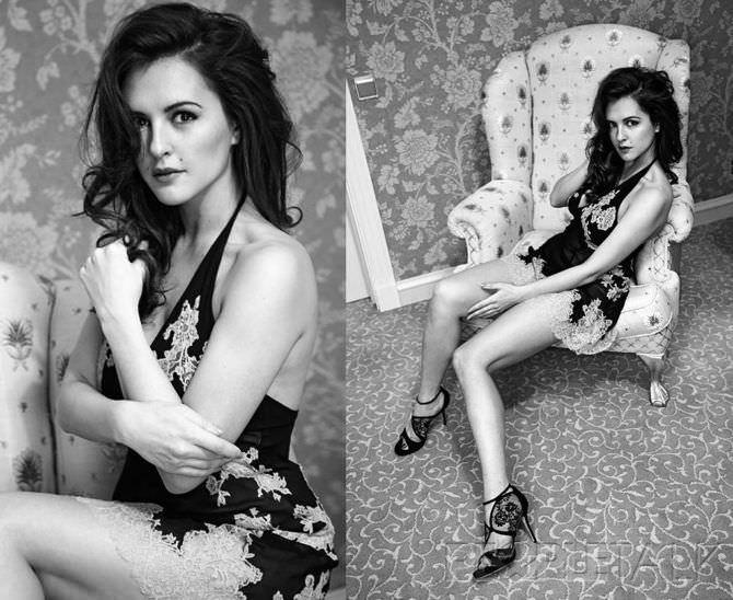 Мария Шумакова красивая чёрно-белая фотосессия