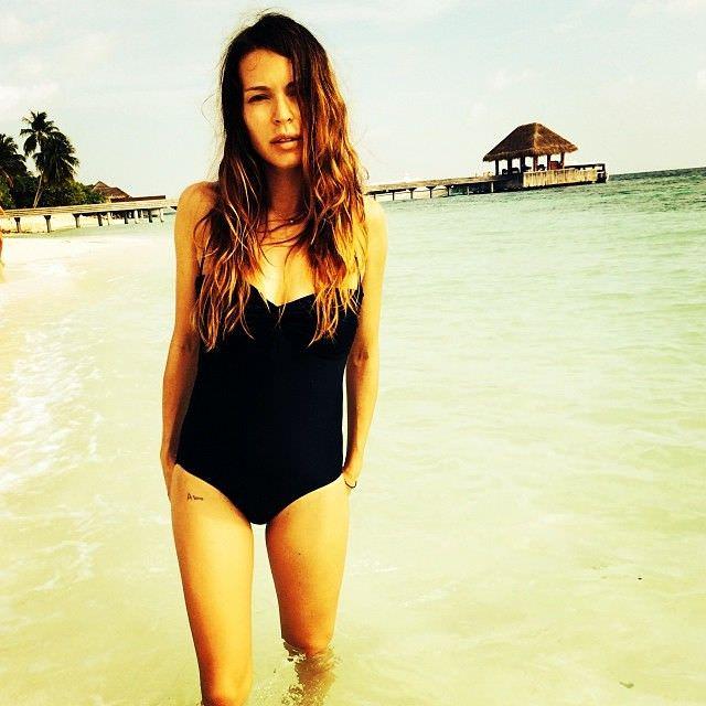 Агния Дитковските фото в купальнике в инстаграм
