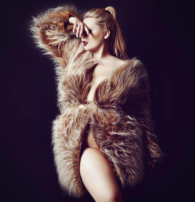 Светлана Каширова фото в меховой шубе