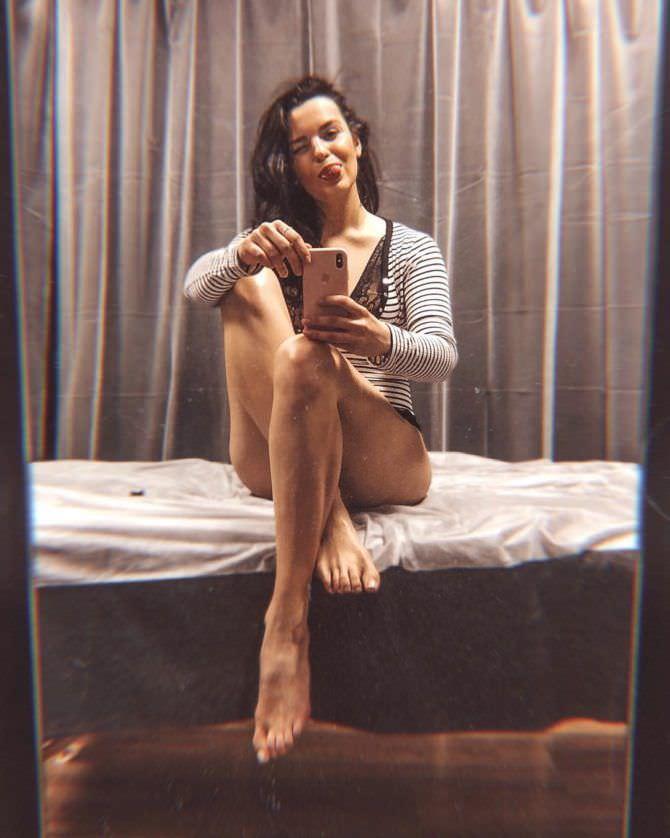 Ксения Лукьянчикова фотография в тельняшке
