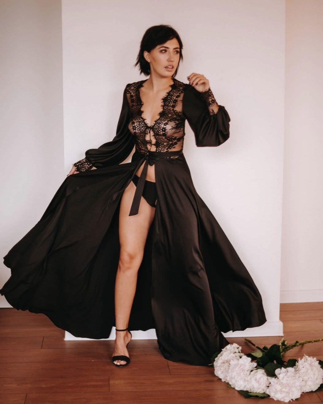 Ригина Гайсина фото в халате