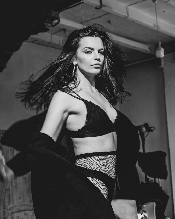 Ксения Лукьянчикова фотосессия в нижнем белье