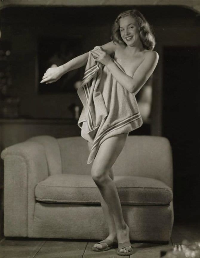 Мэрилин Монро одно из скандальных фото