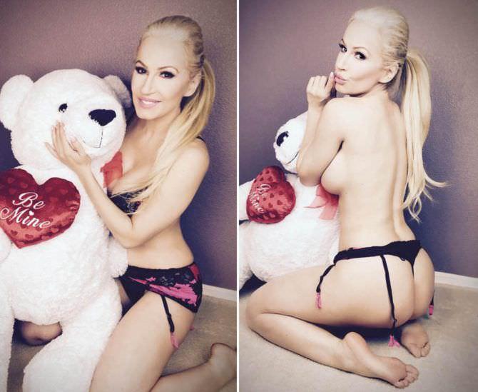 Ана Брага фотографии с медведем