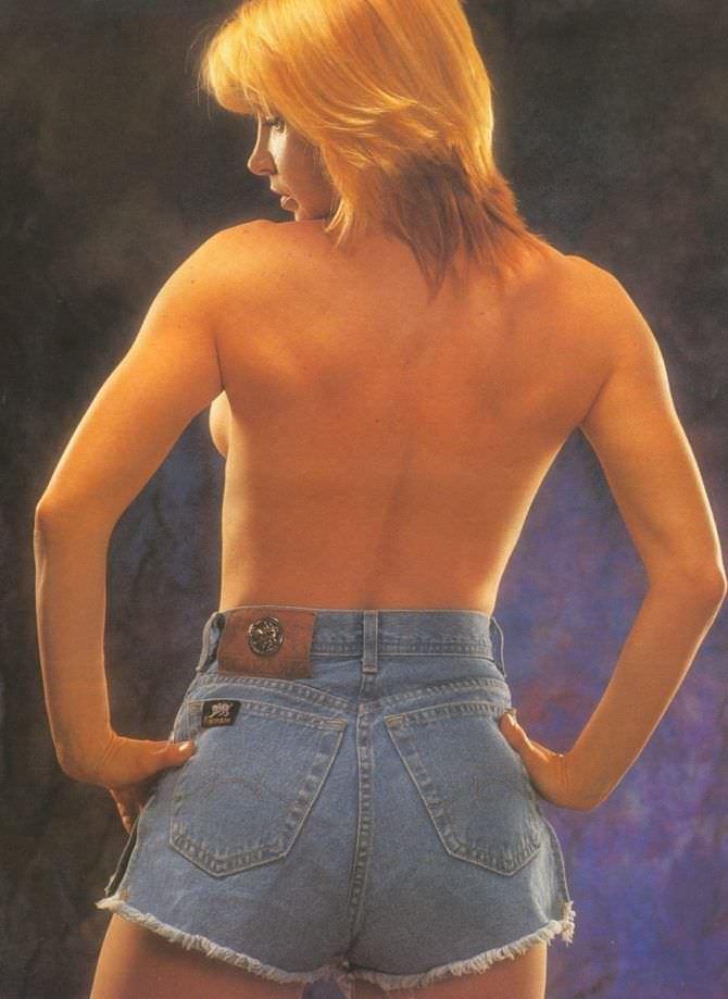 Синтия Ротрок фото в коротких шортах