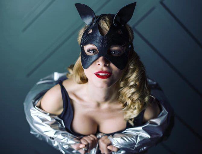 Ольга Вастикова фотография в маске