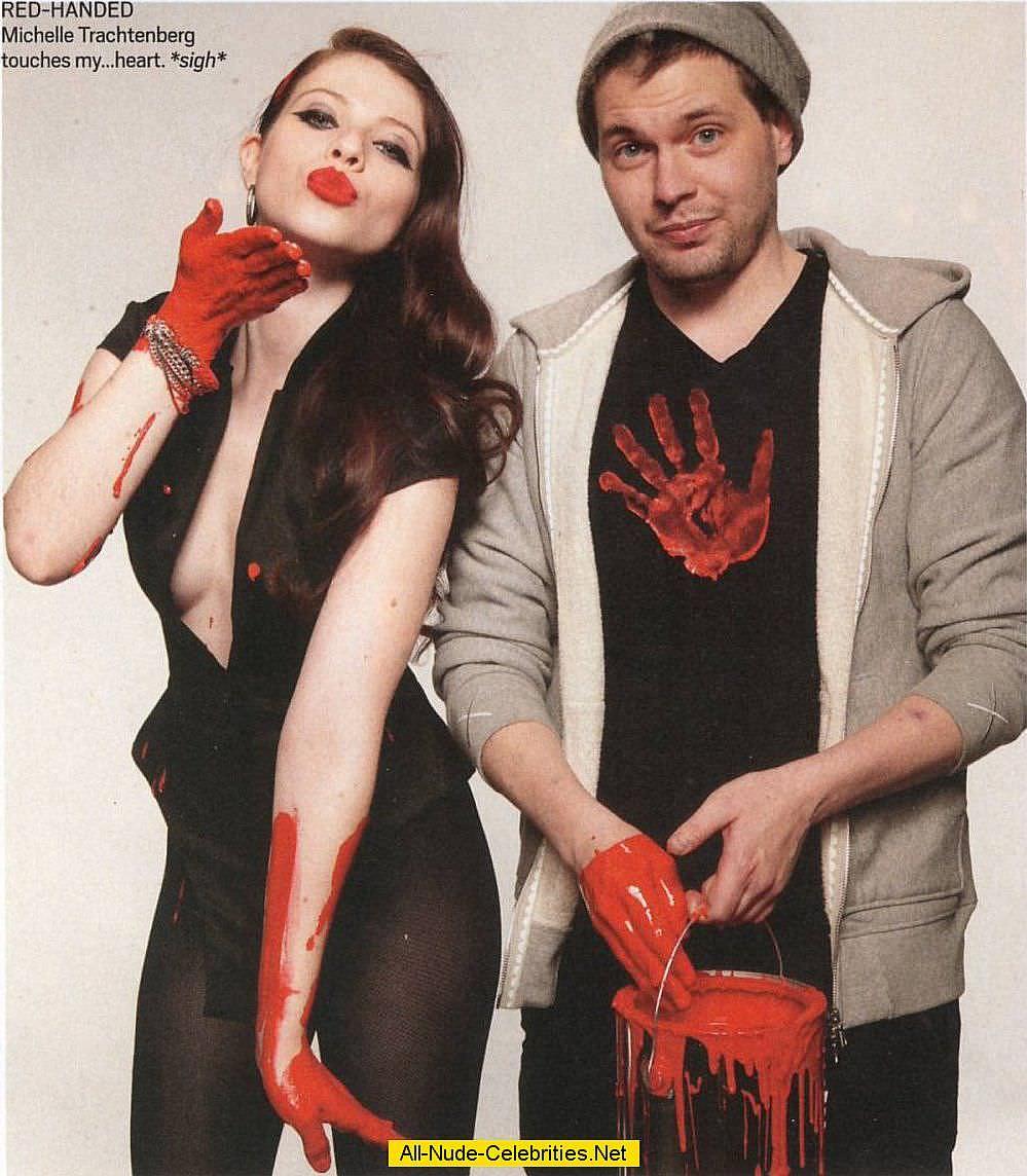 Мишель Трахтенберг фото с мужчиной