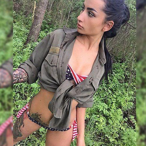 Анжелика Андерсон фото в лесу