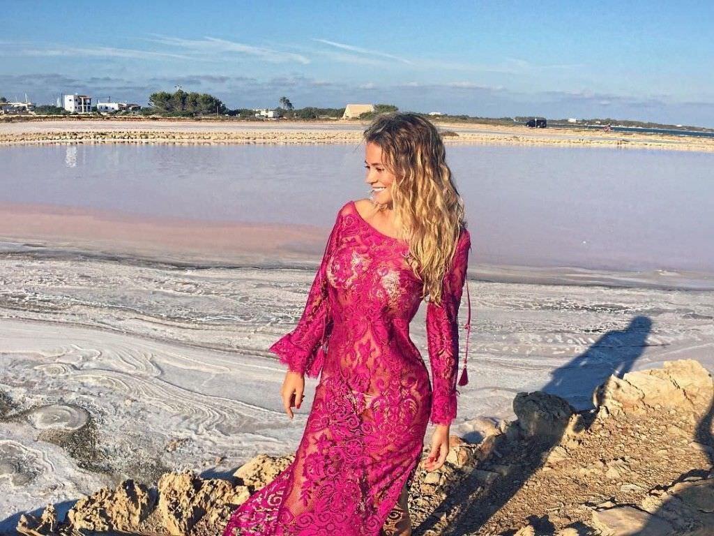 Дилетта Леотта фото в платье
