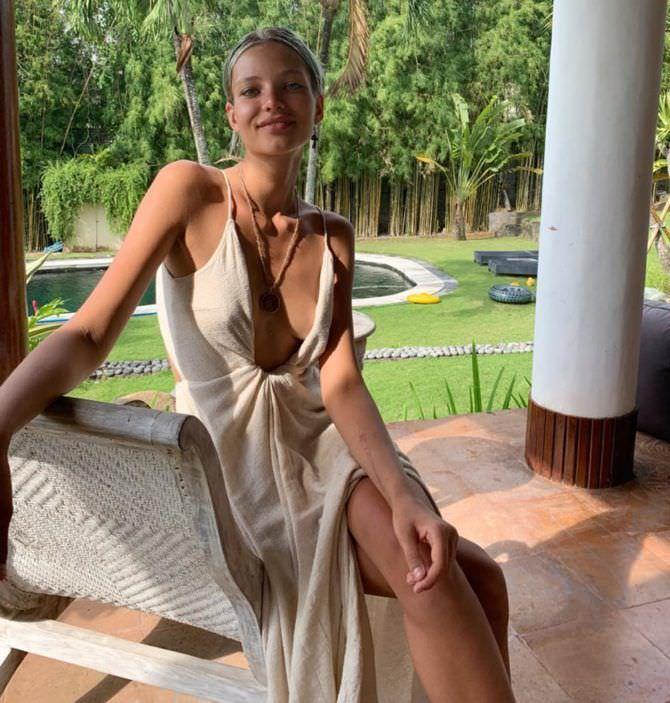 Алеся Кафельникова фото в платье в иснтаграм