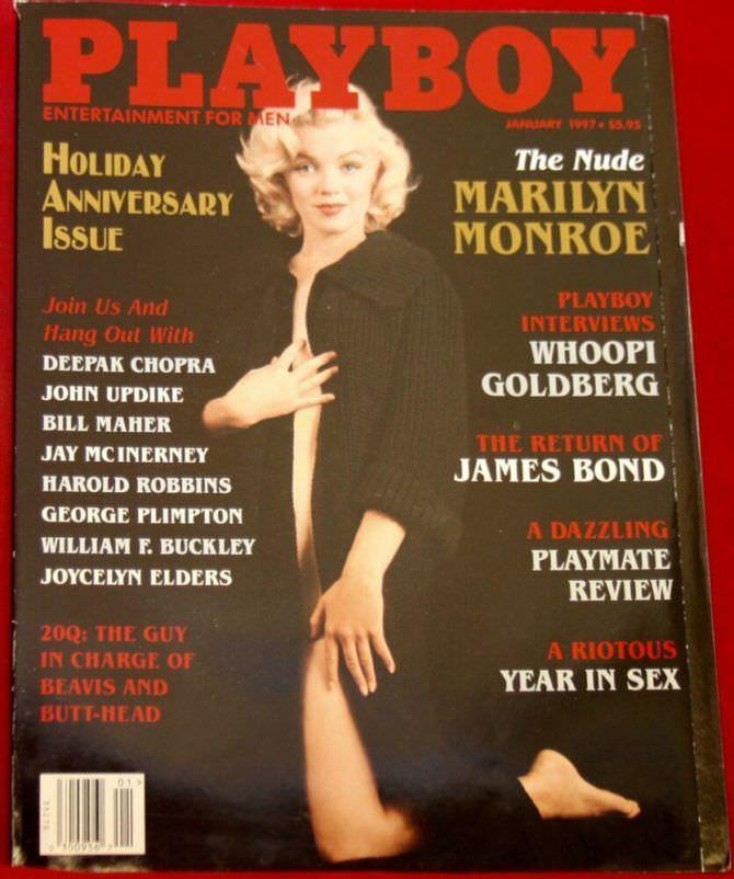 Мэрилин Монро фотография журнала 1997 года