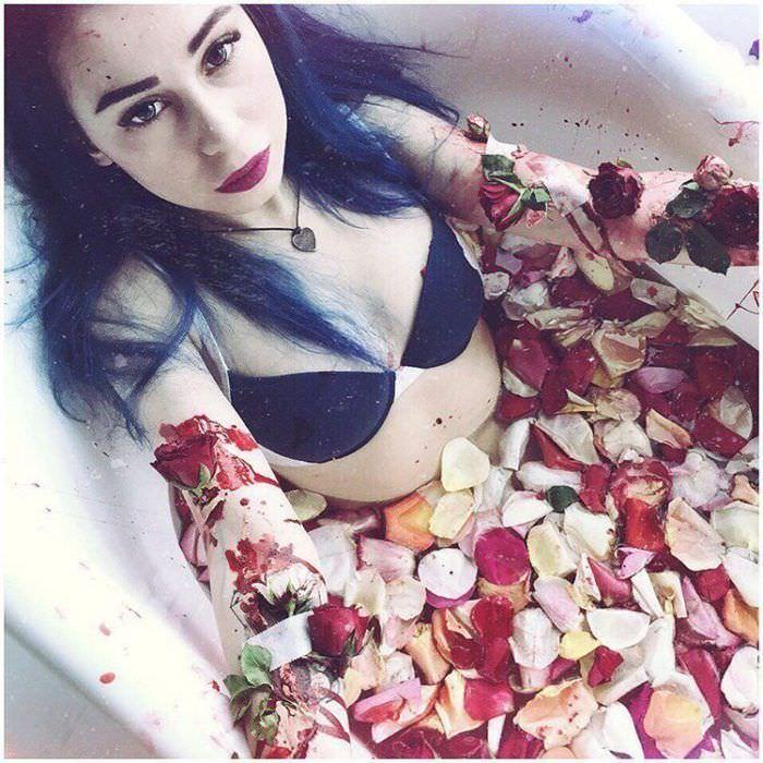Милена Чижова фото в ванной