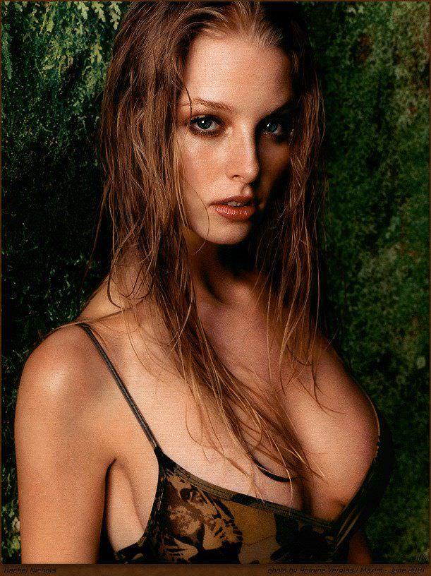 Рэйчел Николс фото с мокрыми волосами