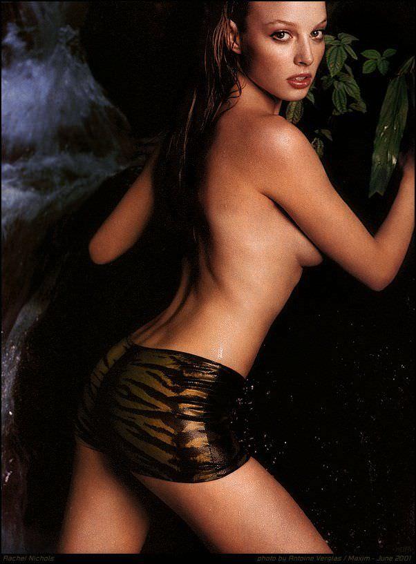 Рэйчел Николс фото без белья