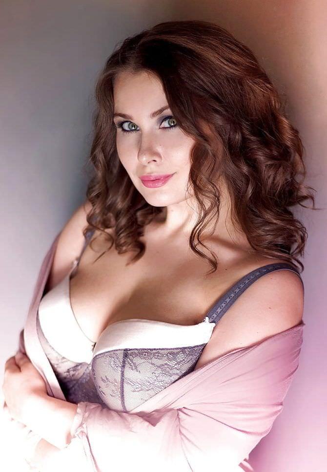 Светлана Каширова фото в кружевном белье