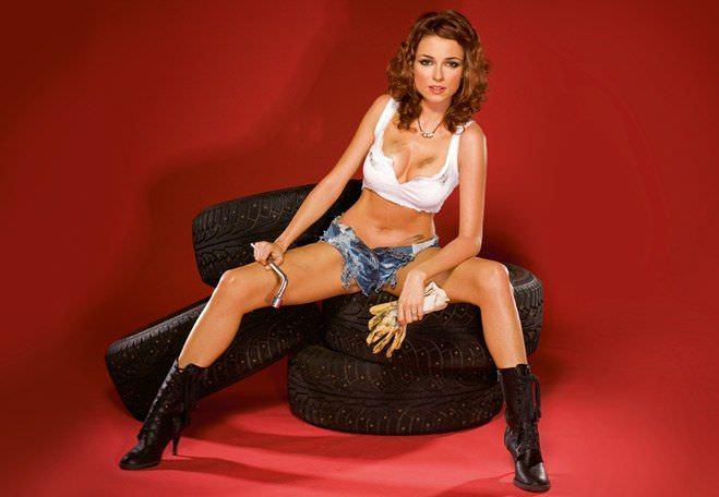 Ирена Понарошку фото на шинах