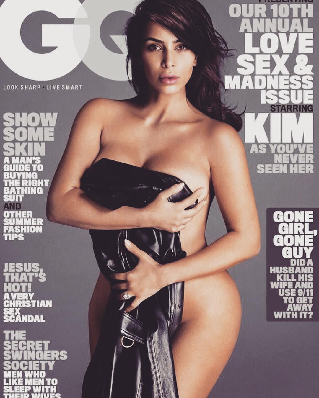 Ким Кардашян фото для журнала GQ