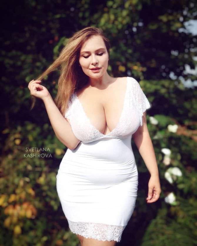 Светлана Каширова фотография в белом платье