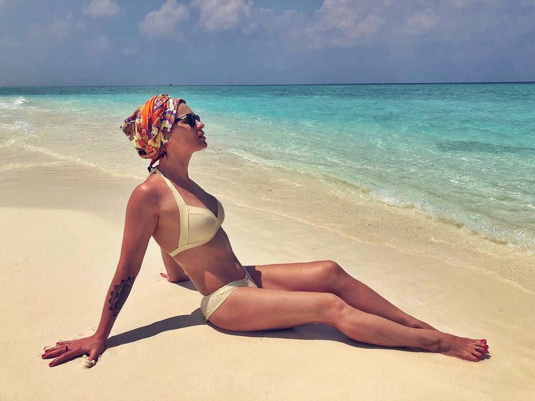 Ирина Муромцева фото на отдыхе