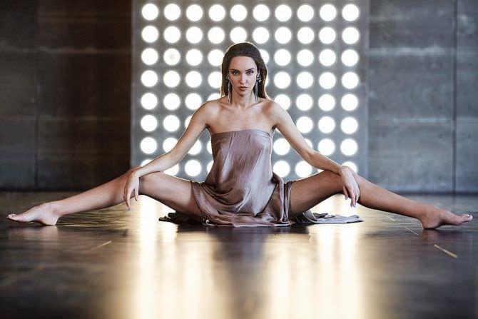 Татьяна Храмова фотосессия в длинном платье