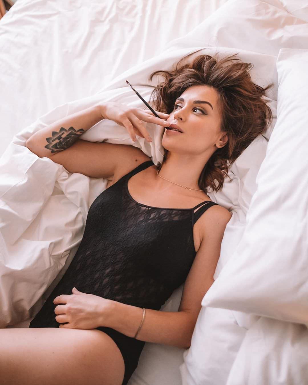 Ирина Муромцева фото с распущенными волосами