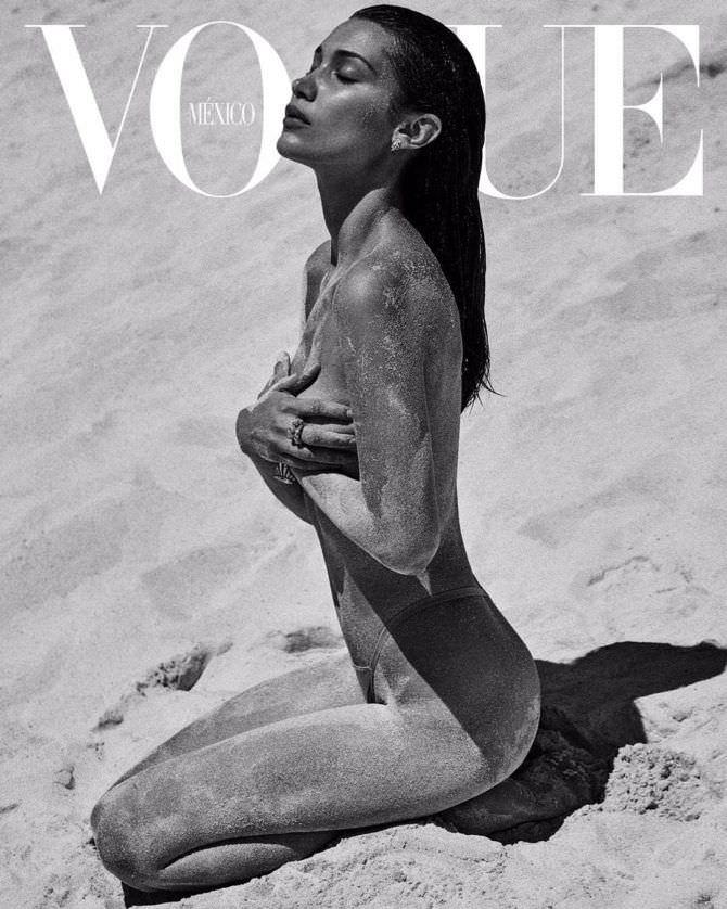Белла Хадид фотография с обложки журнала