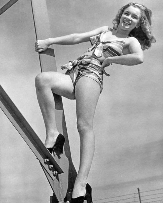 Мэрилин Монро фотография пин-ап в молодости