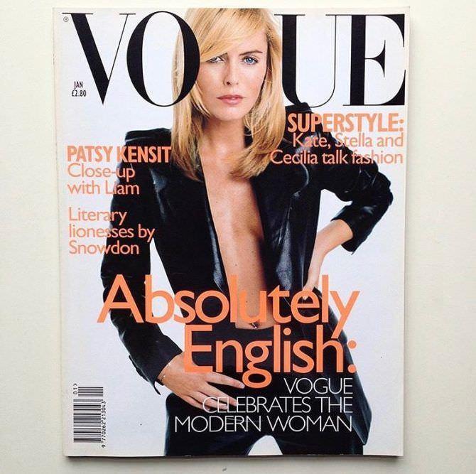 Пэтси Кенсит фотография журнала в инстаграм