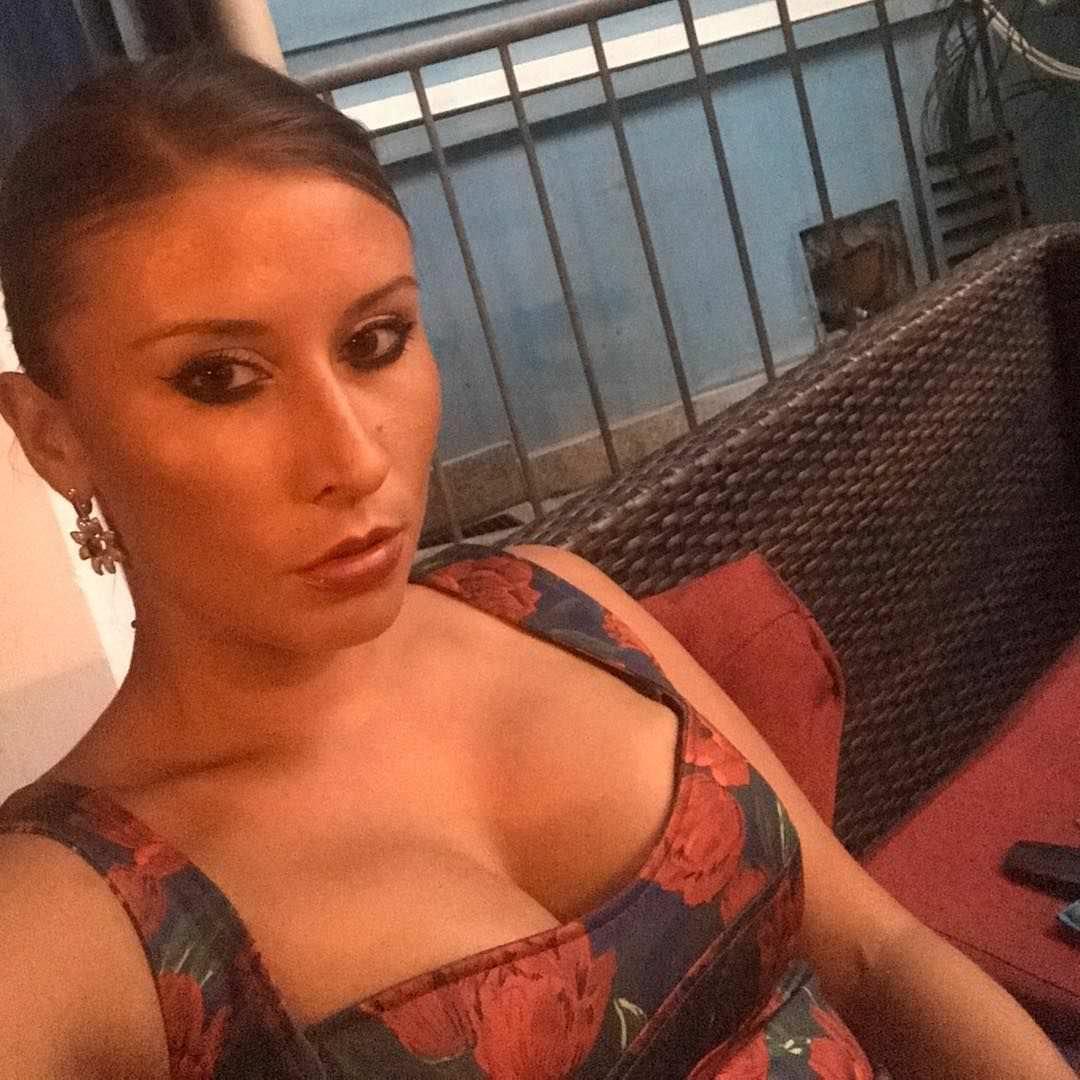 Ольга Подолян фото в платье