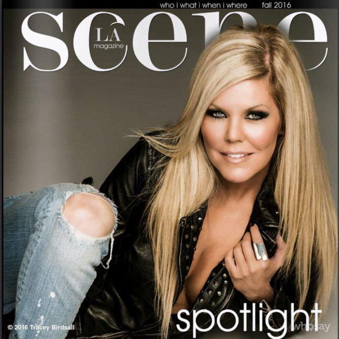 Трэйси Бердсалл фото обложки журнала