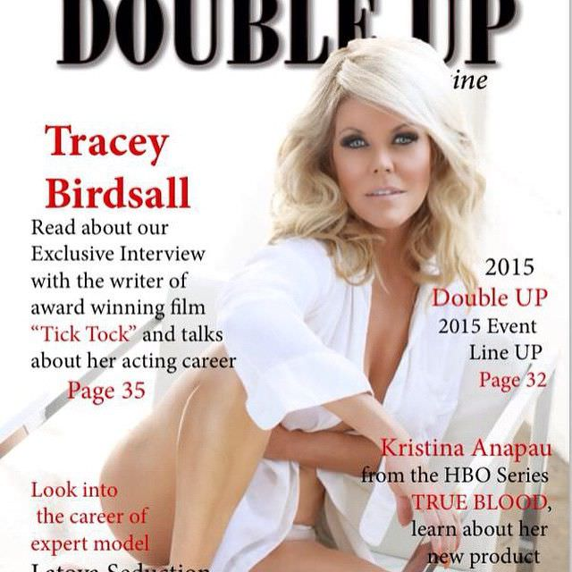 Трэйси Бердсалл фото из журнала в инстаграм