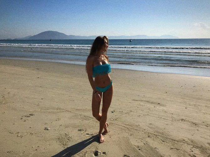 Дарья Пицик фото в инстаграм в бикини