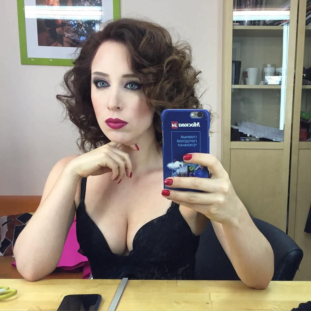 Ирина Шихман фото с ярким макияжем