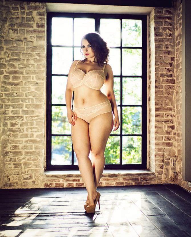 Светлана Каширова фотография в белье в инстаграм