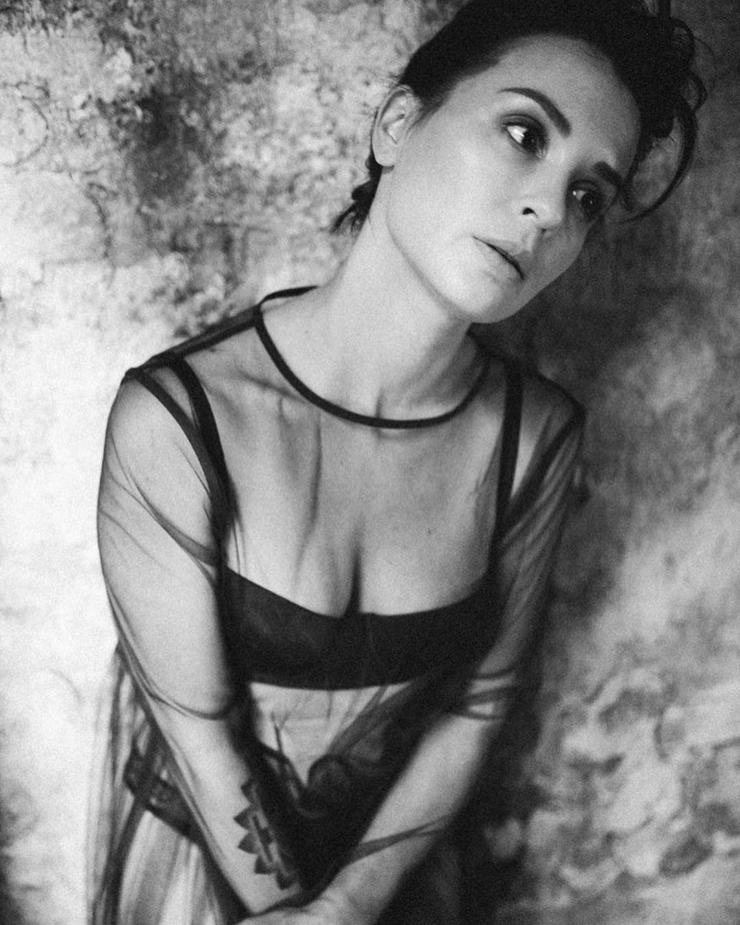 Ирина Муромцева фото в черном белье