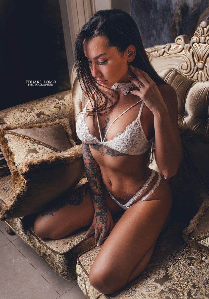 Анжелика Андерсон фото в белье