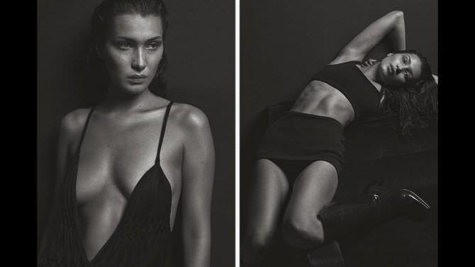 Белла Хадид фотосессия в модном журнале