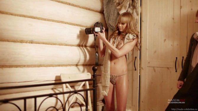 Алла Михеева кадр с фотосессии в журнале
