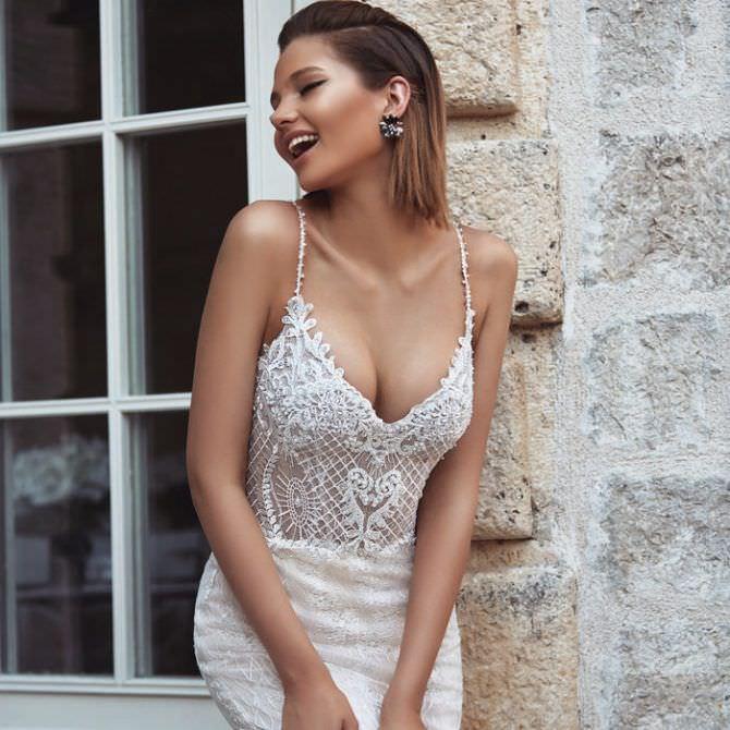 Алеся Кафельникова фото в белом платье