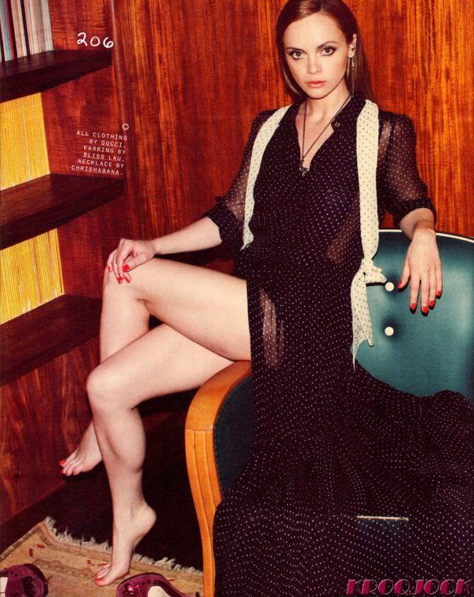 Кристина Риччи фото в длинном платье