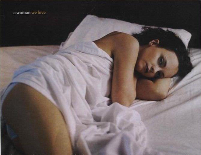 Кристина Риччи фотография из журнала