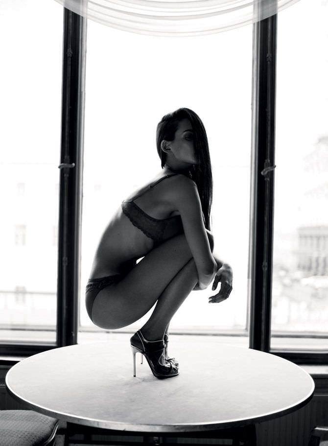 Паулина Андреева фотосессия в нижнем белье