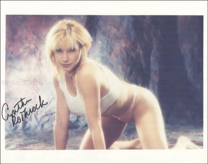 Синтия Ротрок фото в нижнем белье в молодости
