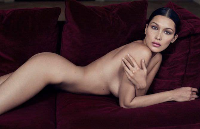 Белла Хадид откровенное фото без одежды